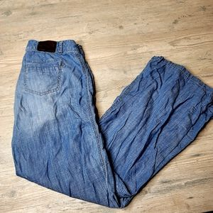 Express Light Wash Straight Fit Jeans. Perfect!